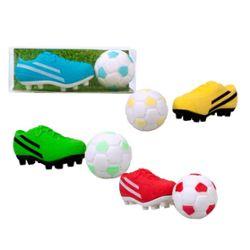 RADIERER Fußball-Set, 4-fach sortiert
