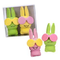 RADIERER Coole Bunnys 2er Set, 2-fach sortiert