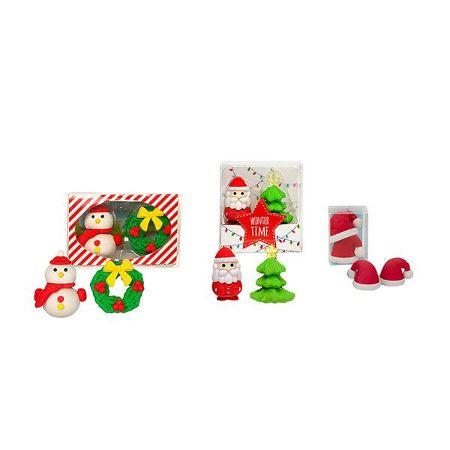 RADIERER COLLECTION Weihnachtsmotive sortiert im Display