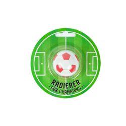 RADIERER Fußball-Radierer Champion ø 3,7 cm, 4-fach sortiert