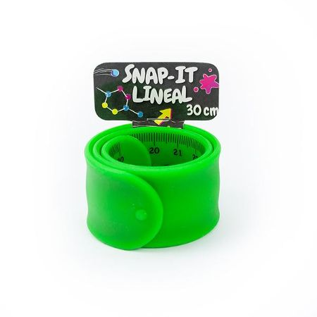 RELAX & BE CLEVER Snap It- Lineal 30cm, 4-fach sortiert