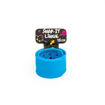 RELAX & BE CLEVER Snap-It Lineal 18cm, 4-fach sortiert