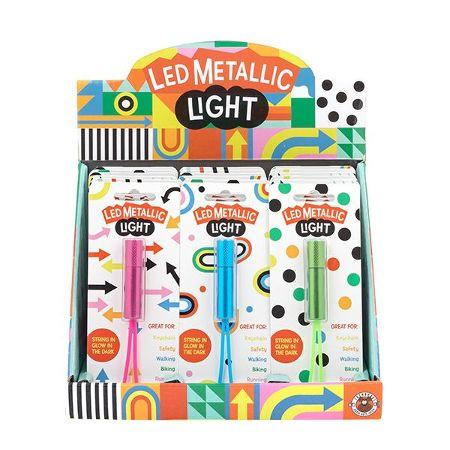 DESIGN & ART LED Metallic Light, 6-fach sortiert