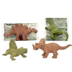 RADIERER Dinosaurier, 8-fach sortiert