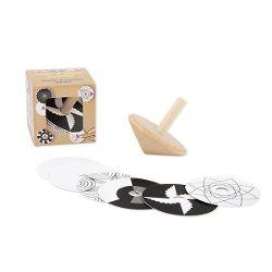 Twisties Mal- & Spielkreisel, 7-teilig