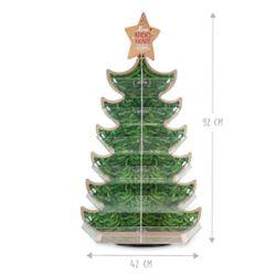 Adventsdisplay Tannenbaum ungefüllt, 24 Fächer, inkl. Plakat DIN A2