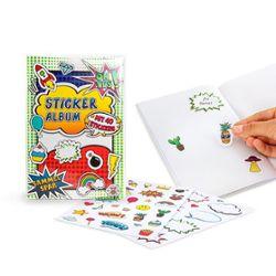 Sticker-Sammelalbum inkl. 40 Stickern