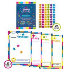 MOTIVATION Sammelset Karten und Sticker 320er