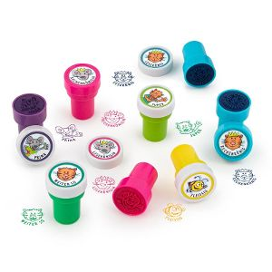 ABC SPASS Teacher stamps self-inking, available in 8 different versions